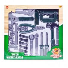"""Набор инструментов """"Помогаю Папе"""", в наборе 24 предмета (ABtoys. Помогаю Папе, PT-00570)"""