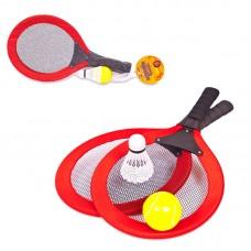 """Игровой набор """"Теннис"""", 4 предмета (ABtoys, S-00107)"""