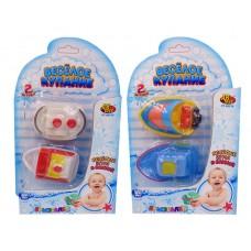 """Катер-брызгалка для ванной """"Веселое купание"""", в наборе 2 шт. (ABtoys. Веселое купание, PT-00518(WA-C7546))"""