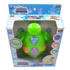 """Черепашка для ванной """"Веселое купание"""" в наборе с аксессуарами (5 предметов) (ABtoys. Веселое купание, PT-00526)"""