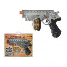 Пистолет штурмовой эл/мех.,со световыми и звуковыми эффектами