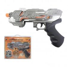 Пистолет штурмовой эл/мех., со световыми и звуковыми эффектами