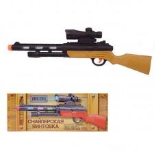 Снайперская винтовка, эл/мех, со световыми и звуковыми эффектами, 42x4,3x16 см