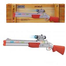 Ружье с прицелом, со световыми и звуковыми эффектами, на батарейках