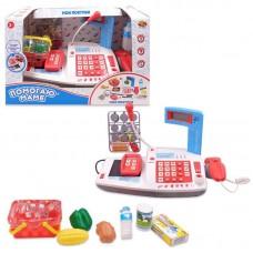 Помогаю Маме. Касса, в наборе с продуктами,со световыми и звуковыми эффектами, в коробке, 38x21x23 см