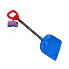 Лопата пластмассовая с металлическим черенком