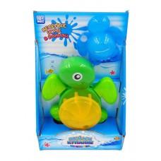 """Черепашка-мельница для ванной """"Веселое купание"""", в наборе с формочкой, 2 вида в ассортименте"""