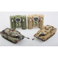 Танковый бой р/у, в наборе 2 танка 1:64, с аккумулятором, со светом и звуком, 47,5х9,8х26,5 см
