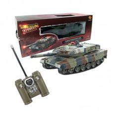 Радиоуправляемый танк (на аккум., свет, звук, с ик наведением) 1:43 (ABtoys, C-00030(516-10))