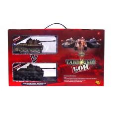Танковый бой радиоуправляемый (на аккум., свет, звук), 2 танка 1:64 (на аккум., свет, звук), 2 танка 1:64 (ABtoys, C-00037(529))