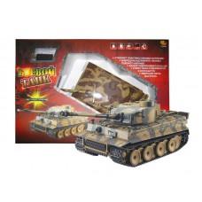 """Радиоуправляемый танк """"Тигр"""" (на аккум, свет, звук) стреляющий пластмассовыми шариками (ABtoys, C-00085(782)пц)"""