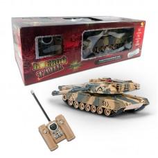 """Радиоуправляемый танк """"Абрамс"""" (на аккум., свет, звук), 1:24, имитация стрельбы (ABtoys, C-00111(549)пц)"""