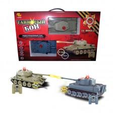 """Танковый бой на радиоуправлении, в наборе: 2 танка Т-34 и """"Тигр"""" (ABtoys, C-00135(508-T))"""