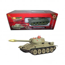 Радиоуправляемый танк Т-34 (на аккум., свет, звук) (ABtoys, C-00136/553)