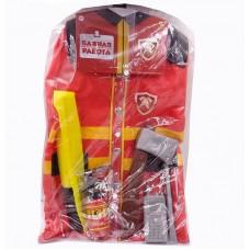 """Форма пожарного """"Важная работа"""", 7 предметов в наборе с аксессурами (ABtoys, PT-00779(WJ-9998))"""