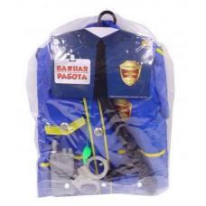 """Форма полицейского """"Важная работа"""", 6 предметов в наборе с аксессуарами (ABtoys, PT-00780(WJ-9999))"""