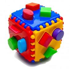 Куб логический. Развивающая игрушка (Аэлита, 2С414)