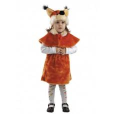 Костюм карнавальный Белочка (мех) размер 28 (детский)