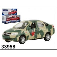Машинка металлическая LADA GRANTA армейская 1:36 (AUTOTIME, 33958(33958W-RUS))