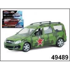 Машинка металлическая LADA LARGUS армейская 1:38 (AUTOTIME, 49489)