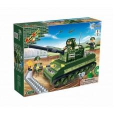 "Конструктор ""Танк"", 260 деталей Banbao (Банбао) (BANBAO, 8234)"