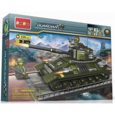 "Конструктор ""Танк"", 330 деталей Banbao (Банбао) (BANBAO, 8236)"