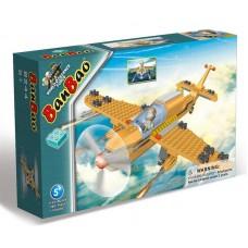 """Конструктор """"Военный самолет"""", 190 деталей Banbao (Банбао)"""