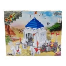 """Конструктор """"Осада замка"""" 460 детали, 45х35х7 см Banbao (Банбао) (BANBAO, 8263пц)"""