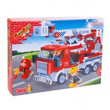 """Конструктор """"Пожарная машина"""" 290 деталей Banbao (Банбао) (BANBAO, 8313пц)"""