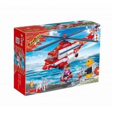 """Конструктор """"Пожарный вертолет"""" 272 детали Banbao (Банбао) (BANBAO, 8315пц)"""