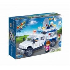 """Конструктор """"Полицейский грузовик"""" 290 деталей Banbao (Банбао) (BANBAO, 8343)"""