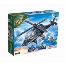 """Конструктор """"3 в 1: вертолет, танк, корабль"""" 295 деталей Banbao (Банбао) (BANBAO, 8478)"""