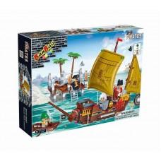 """Конструктор """"Пиратская лодка """", 502 детали Banbao (Банбао) (BANBAO, 8707пц)"""