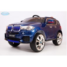 Детский Электромобиль BARTY BMW X5 (М555МР) кузов F-15 performance синий