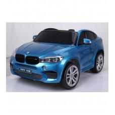 Детский электромобиль Barty BMW X6М синий глянец