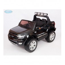 Детский электромобиль Barty Ford Ranger F650 4WD черный, с монитором