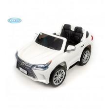 Детский электромобиль Barty Lexus LX 570 белый