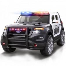 Электромобиль Barty Ford ПОЛИЦИЯ Т111МР черныо-белый