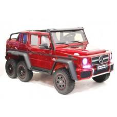Электромобиль Barty G63-AMG 4WD красный