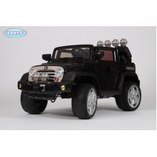 Детский Электромобиль BARTY Jeep Wrangler черный