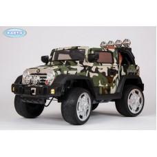 Детский Электромобиль BARTY Jeep Wrangler камуфляж