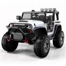Электромобиль Barty Jeep Wrangler M999MP белый