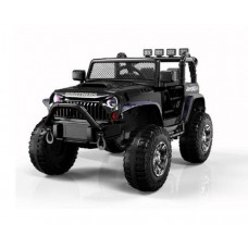 Электромобиль Barty Jeep Wrangler M999MP черный глянец
