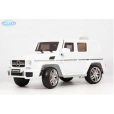 Детский Электромобиль BARTY Mercedes-Benz G63 AMG (12V/10ah) Tuning (HAL168) белый