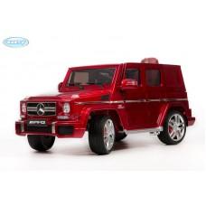 Детский Электромобиль BARTY Mercedes-Benz G63 AMG (12V/10ah) Tuning (HAL168) красный