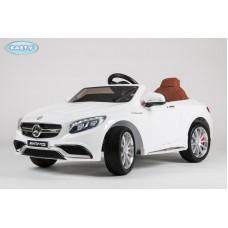 Детский Электромобиль BARTY Mercedes-Benz S63 AMG белый