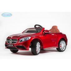 Детский Электромобиль BARTY Mercedes-Benz S63 AMG красный