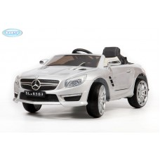 Детский Электромобиль BARTY Mercedes-Benz SL63 AMG серебро