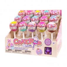 Игрушка в индивидуальной капсуле Cake Pop Cuties, 1 серия, 6 видов в ассортименте, цена за штуку.