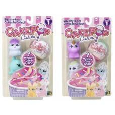 Набор игрушек Cake Pop Cuties, 2 серия, 2 вида в ассортименте, 3 штуки в наборе